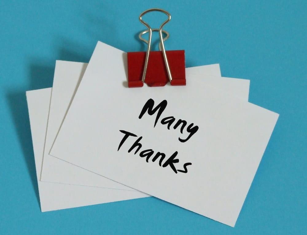 Famous thank you quotes to show appreciation and gratitude ...