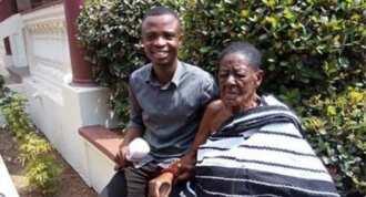 Meet the 131-year-old wife of Asantehene Otumfuor Osei Tutu II