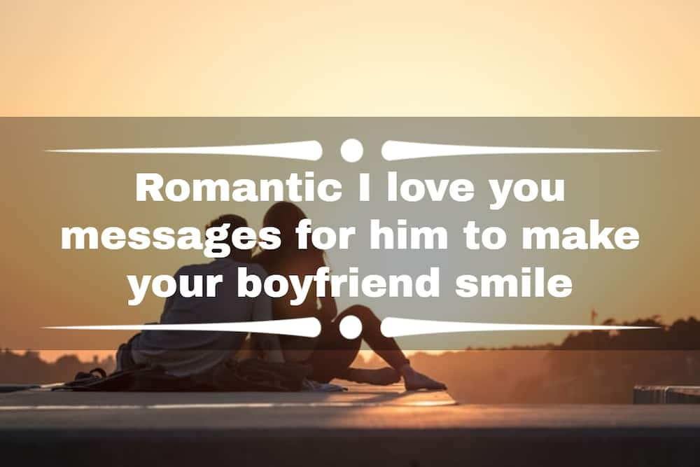 I love you messages for him