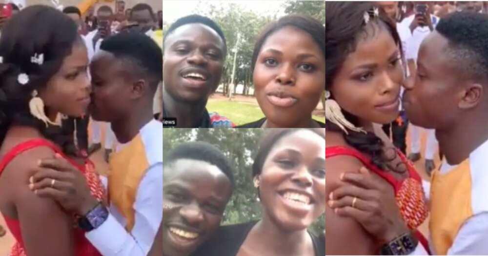 Groom Whose Bride Refused To Kiss Him At Their Wedding In Viral Video Speaks