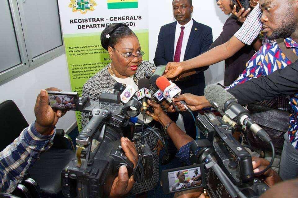 Registrar general department