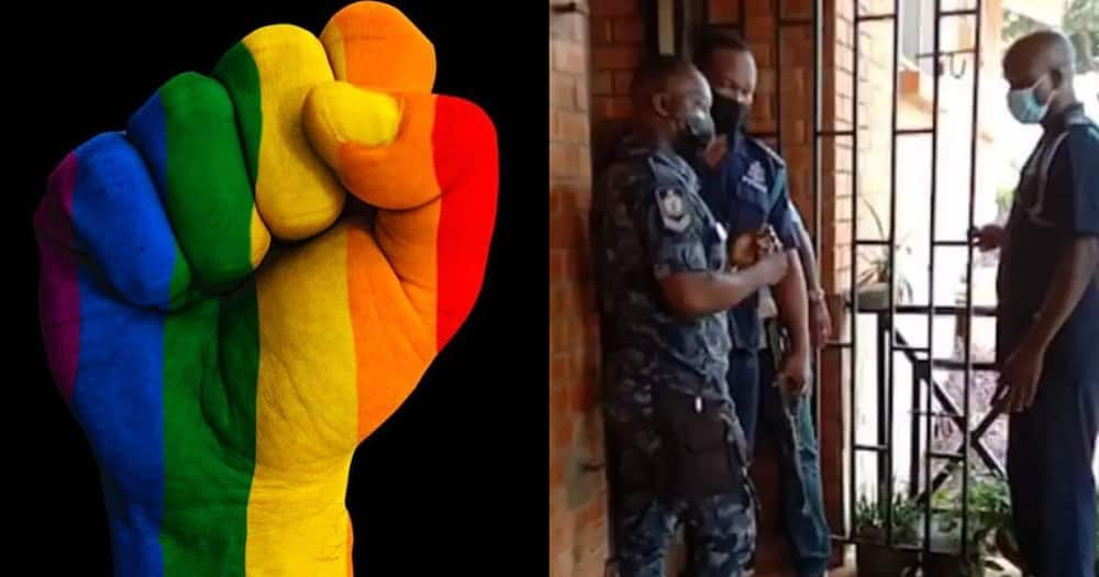 Activists call for the release of suspected LGBTQIs Arrested By Police with #ReleaseThe21