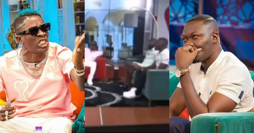 You've worked for 30 years yet don't own a house - Wale clashes with Arnold Asamoah on live TV