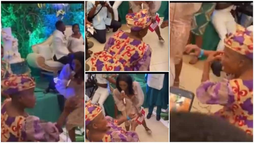 Who Gave her 'Something' to Drink: Reactions as Grandma Lights up wedding atmosphere with Dance Steps