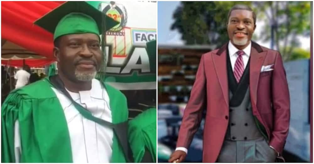 58-year-old actor Kanayo O. Kanayo becomes a barrister after passing law school exams