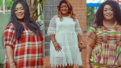 Kumawood stars react as Christiana Awuni shares 2 beautiful photos on her birthday