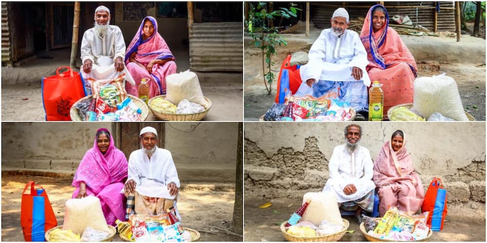 Kindhearted man feeds elderly couples and widowed mothers neglected by their children, many hail him