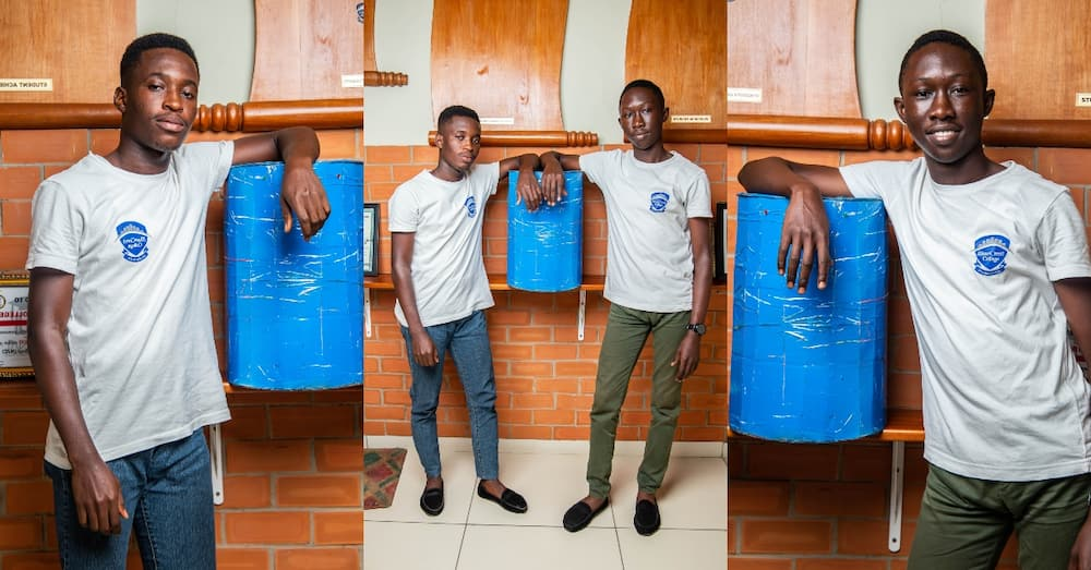 Innovative duo from BlueCrest University College Create SMART BIN to Curb the Spread of Covid-19