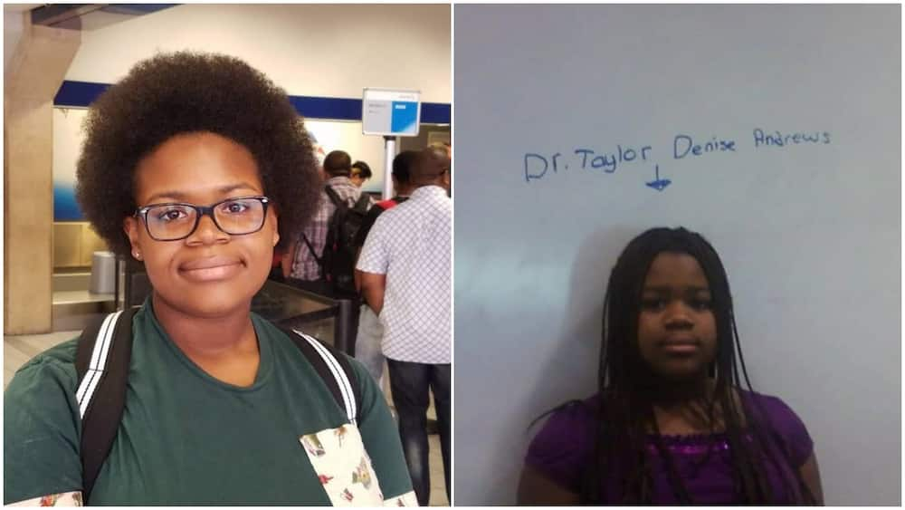 Lady begins PhD in neuroscience, shares throwback photo of when she used to call herself doctor