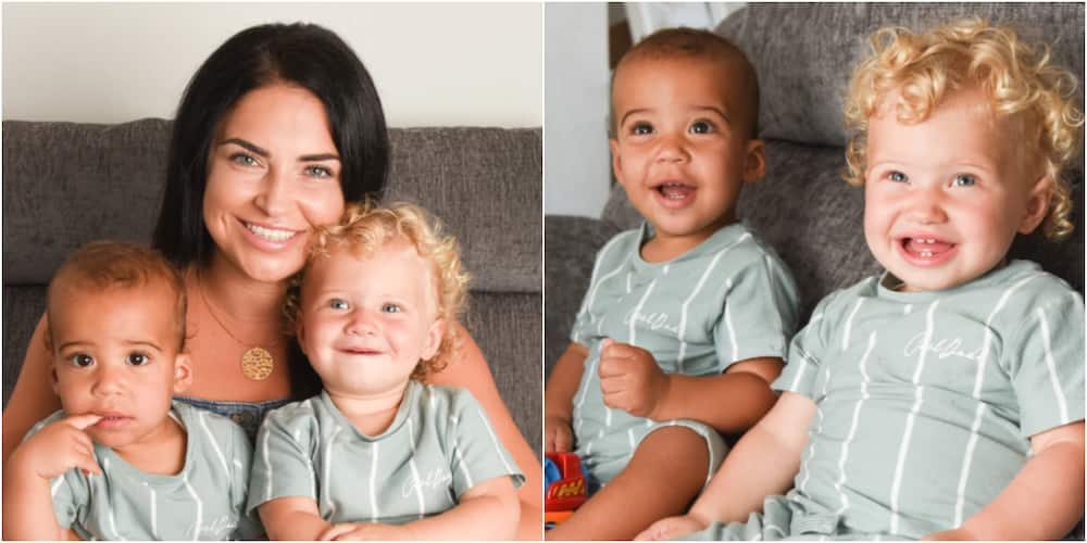 Jade and Kade: Couple gives birth to twins with rare black and white skin colours, charming photos pop up