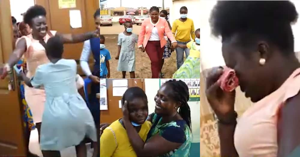 Tears of joy as missing children reunite and embrace their parents in emotional video