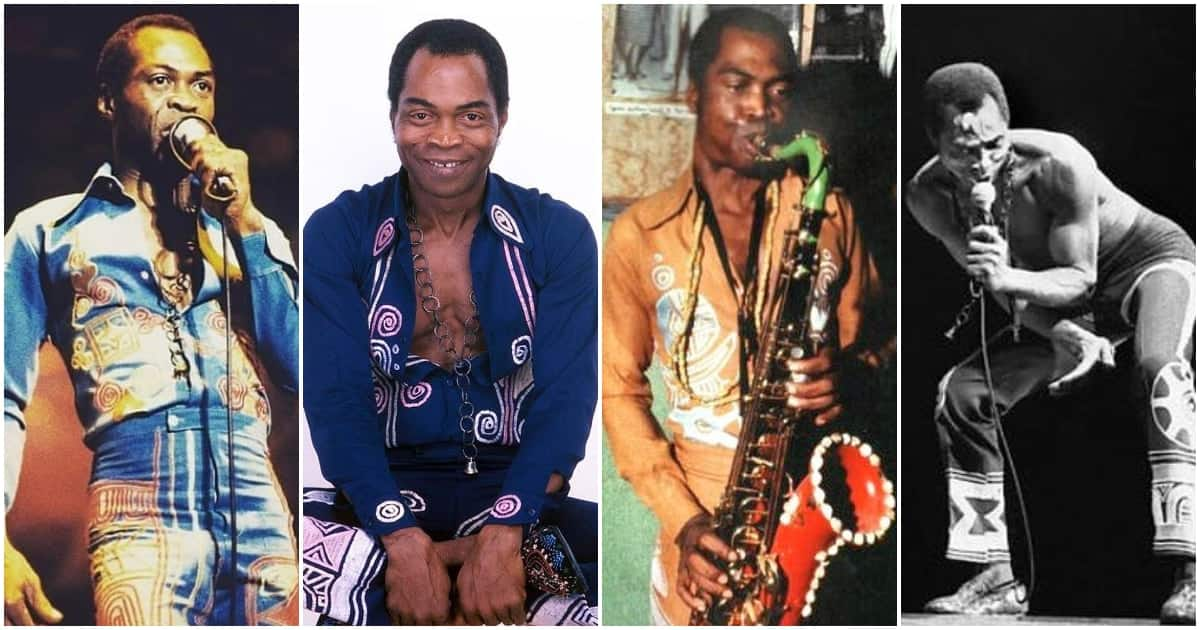 Fela Kuti at 81: 20 powerful pictures that show the life and time of late afrobeat legend