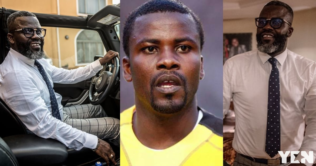 Enter into former Black Stars defender Sammy Kuffuor's beautiful mansion and see his luxurious cars (Photos)