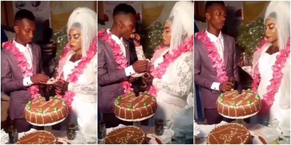 The new couple got many talking on social media