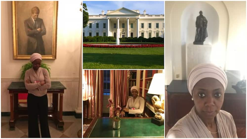 Nigerian woman shares experience of visiting White House during Trump administration, stirs reactions