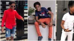 Father like son: 5 incredible fashion moments of Wizkid's first son Tife who is turning 10 years
