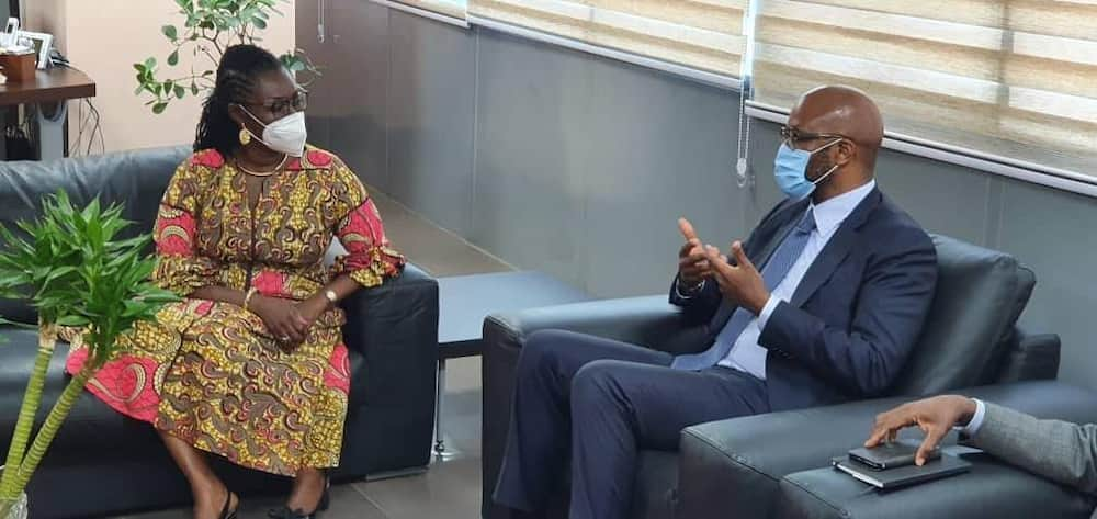 MTN Group CEO, board chairman, other top executives visit Ghana as part of tour of priority markets