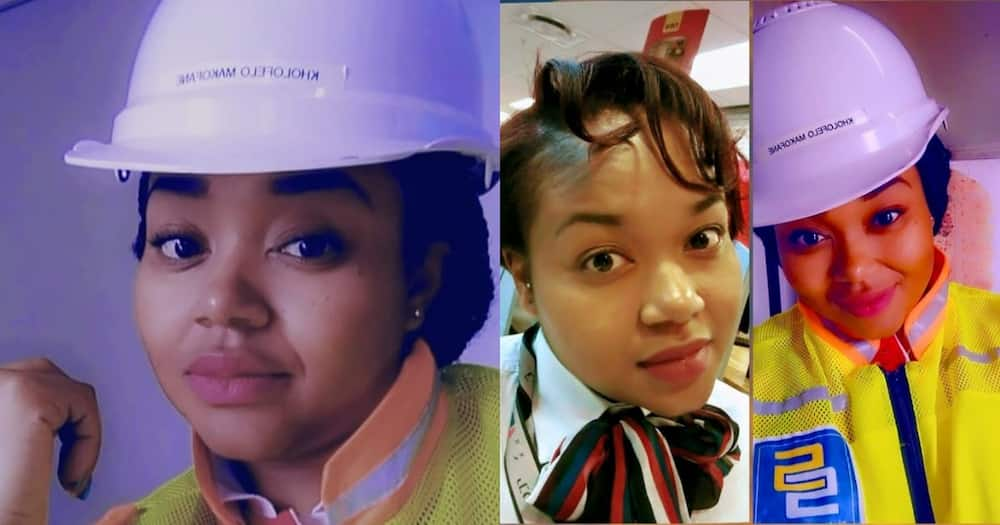 Chasing Dreams: Lady Goes From Bank Manager to Construction Student