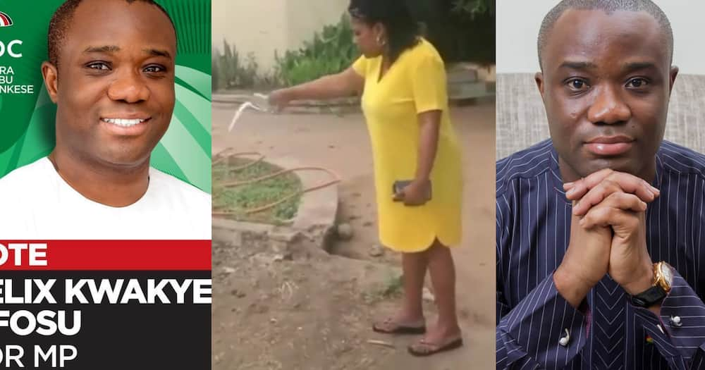 Woman curses Felix Kwakye Ofosu for denying alleged affair in viral