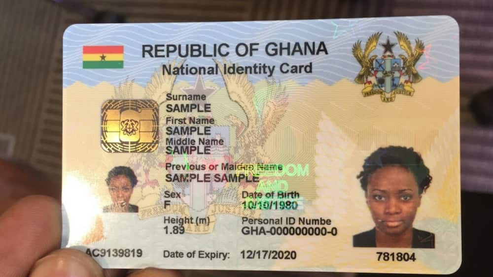 Ghana Card to replace Health Insurance Cards by December 2021