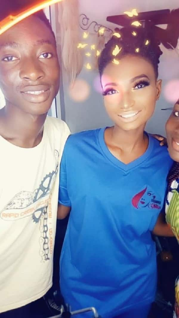 Meet Samuel Mills, the male make-up artist making waves in Accra