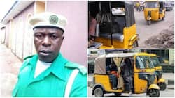 Honest Pragya driver returns GHC7000 passengers forgot in tricycle, they give him GHC70 reward