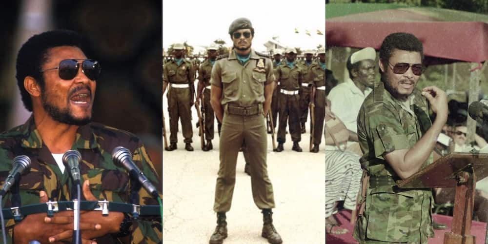 Shatta Wale mourns late former president Rawlings with iconic photo