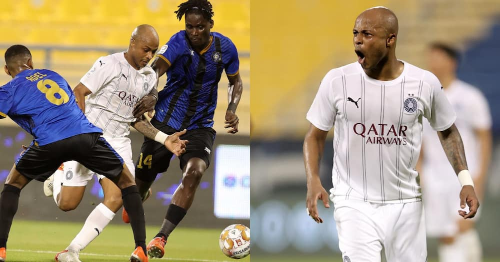 Ghana captain Andre Ayew makes Qatari Stars League debut with Al Sadd
