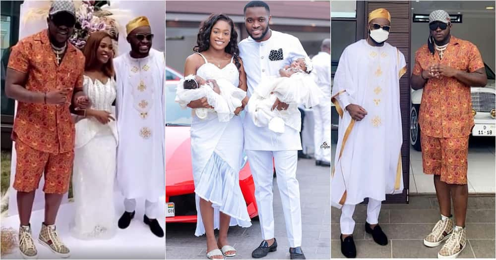 Kayla and Kaylee: Kennedy Osei and Tracy reveal the names of their twin daughters