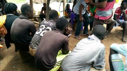 Forty two trafficked children rescued from child labor on the Volta Lake