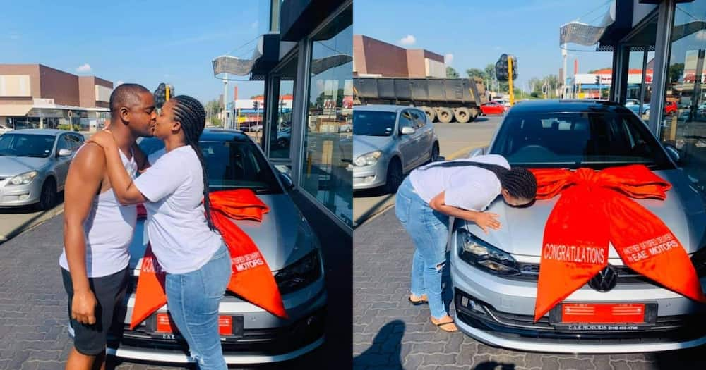 """""""Gift Olympics"""": Mzansi Man Buys Bae a New Whip for Valentine's Day"""