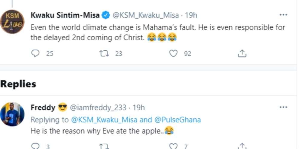 KSM mocks John Kumah and NPP for Blaming Taxes on Energy on Mahama