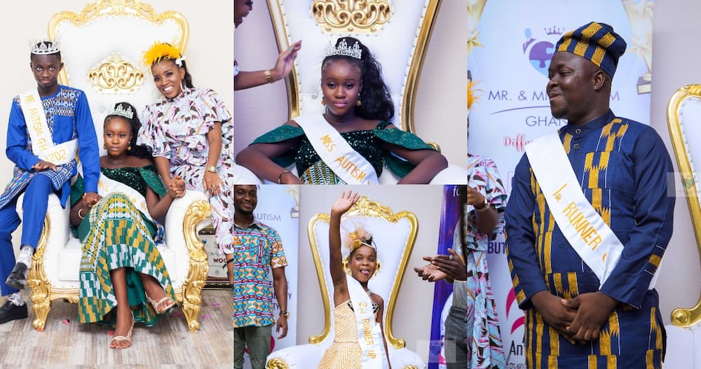 1st ever Verna Mr & Miss Autism pageant held in Ghana; winners crowned in adorable photos