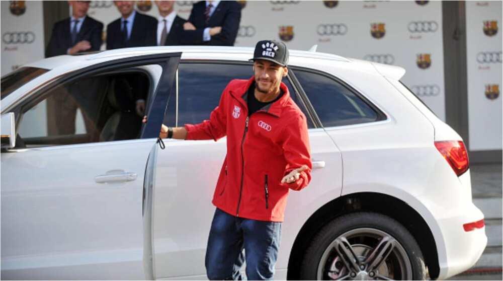 Neymar: Brazilian superstar has N2bn car collection including Maserati, Vulcan, Mercedes AMG