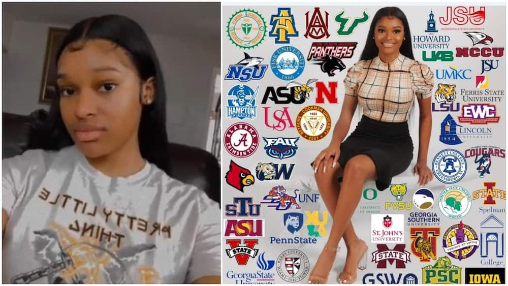Young lady gets admissions into 50 universities at the same time, stirs reactions