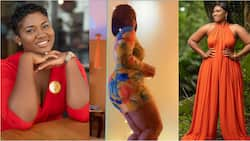 Abena Korkor storms the internet with wild dancing video; causes fans to profess love for her