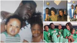 Rare photos of Mercy Johnson's grown-up stepchildren and husband Prince Odi's ex-wife hit social media