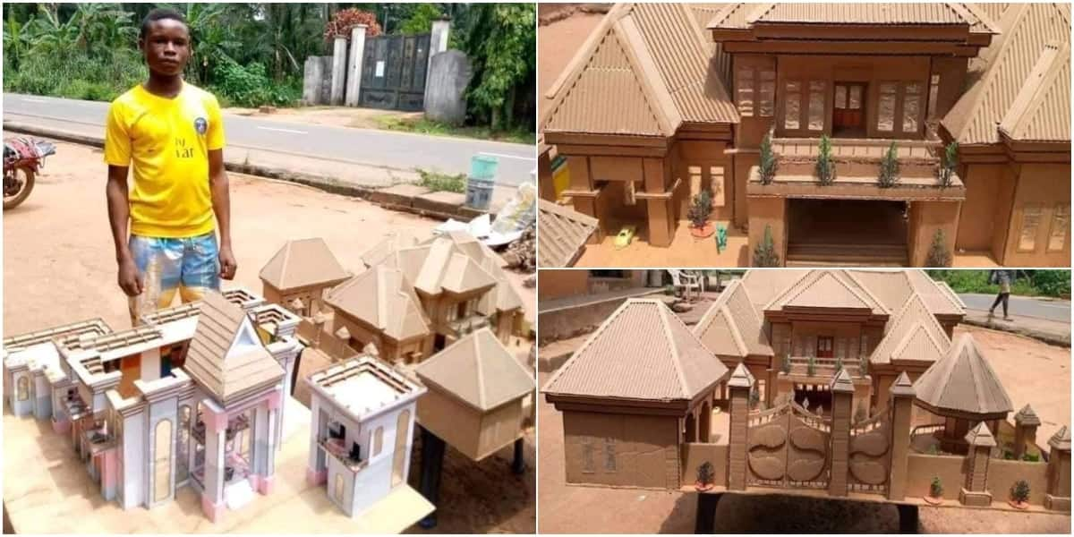 15-year-old boy uses paper boxers to design building prototypes; his works go viral (photos)