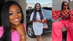 Jackie Appiah causes traffic with pink fashion in new photo; McBrown, others all over her