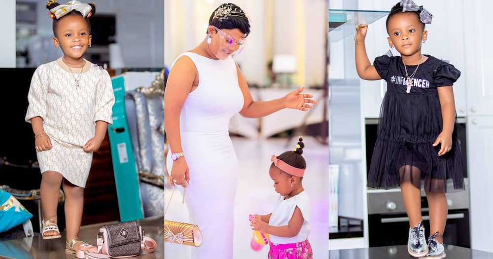 Baby Maxin: McBrown's Daughter Poses Like A Model In New Photos; Fans Praise