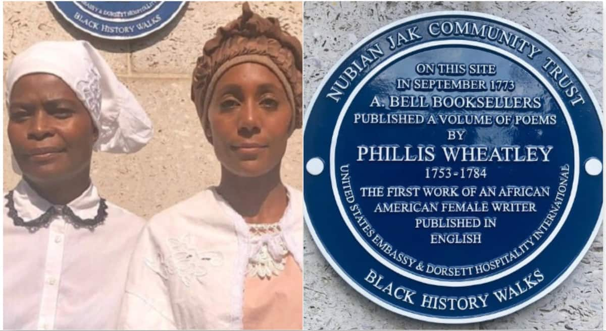 First black woman to publish a book in English honoured after 246 years
