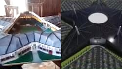 10-year-old Ghanaian boy creates beautiful stadium in the form of Black Star