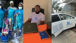 Ghanaian man establishes 2 successful companies after being laid off at work