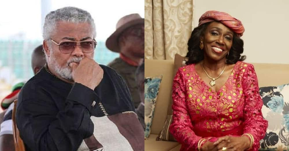 Reports of Mrs Rawlings hospitalized after husband's demise likely untrue