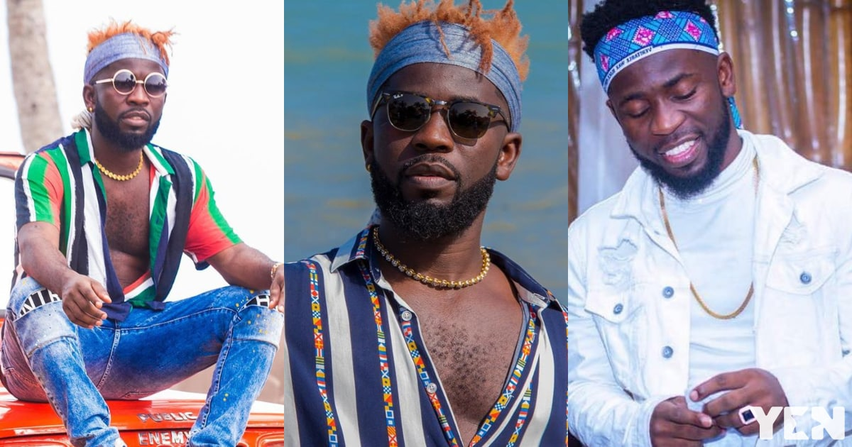 Bisa Kdei flaunts huge luxurious mansion with large compound and fans are happy