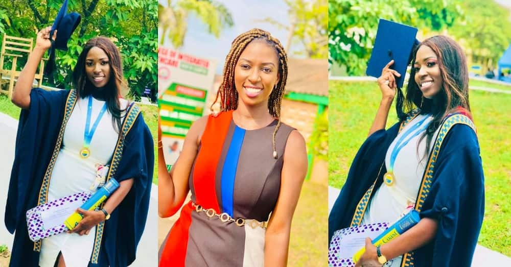 Veronica Ekua Mends: Lady discouraged from pursuing engineering now overall best student at Cape Coast