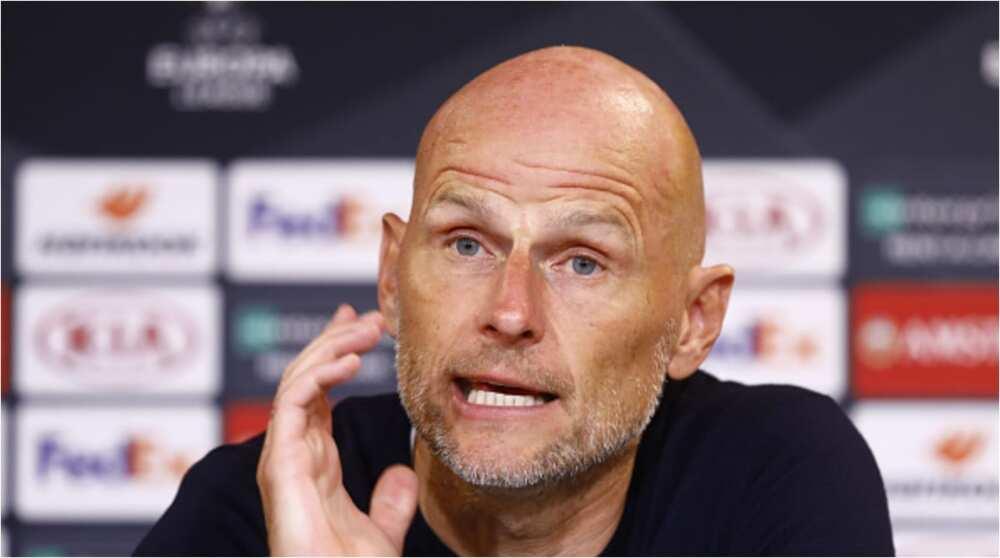 Stale Solbakken: Copenhagen manager promises players bonus if they knockout Manchester United