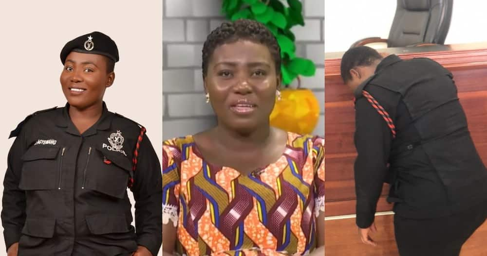 Ewurama Police: Female Officer & Singer says they keep Protecting People who wish them dead
