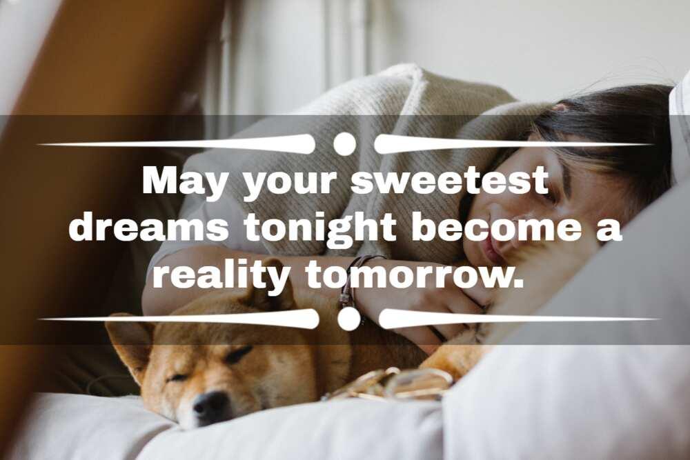 sweet dreams texts