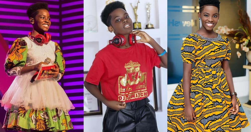 DJ Switch: 6 Photos of child DJ Showing how fast she has grown in 3 Months
